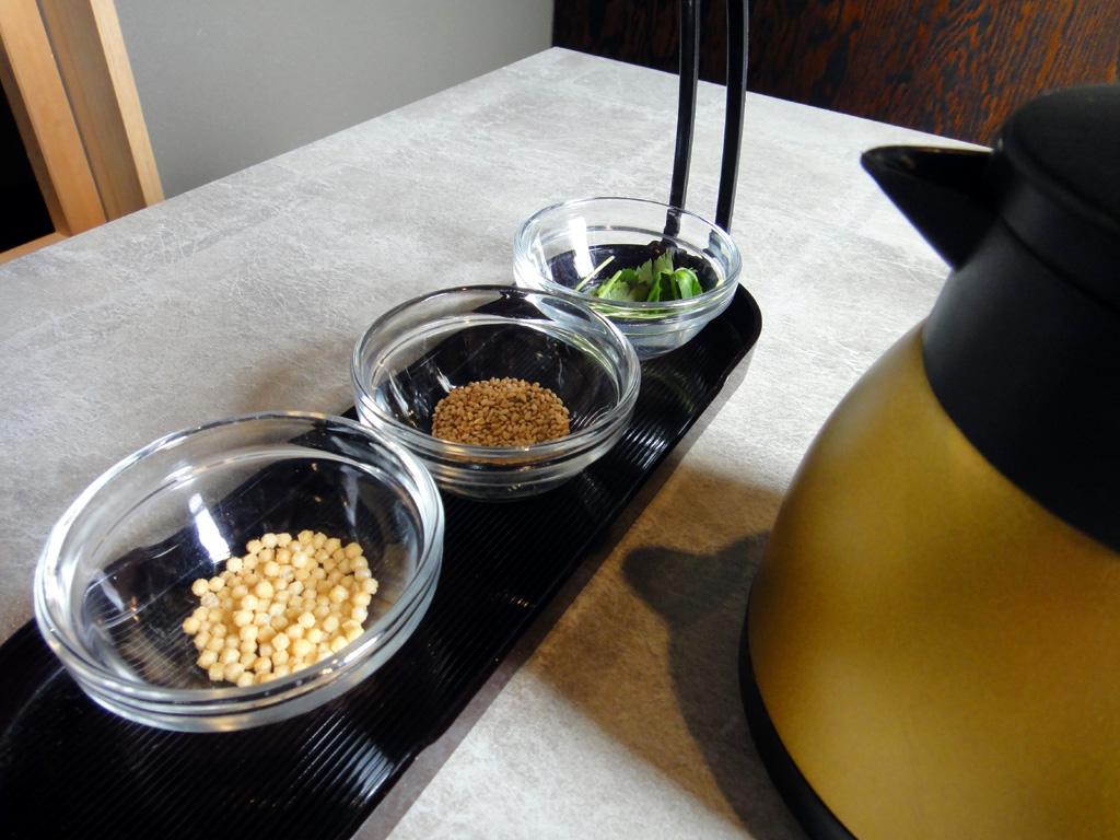 お茶漬け用セットと出汁