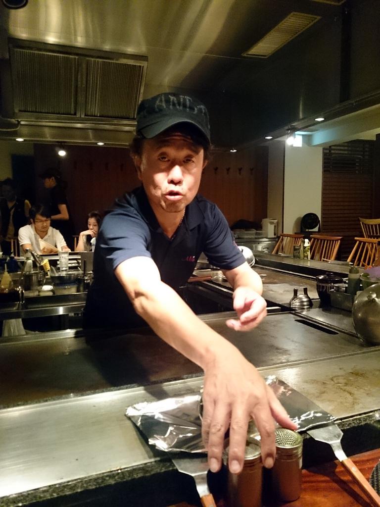 オーナーさんが大阪から来てました!